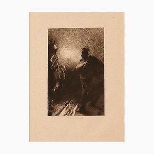 Ricardo De Los Rios, Les Ténèbres, 1880s, Eau-Forte
