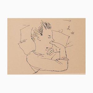 Jean Cocteau, The Boy, Fotolithografie, 1930er