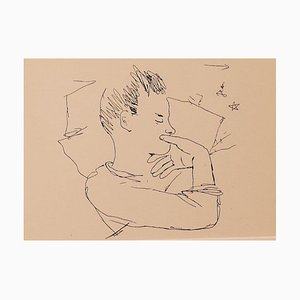 Jean Cocteau, The Boy, Photolithograph, 1930s