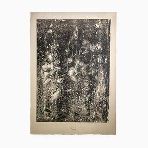 Jean Dubuffet, Torrent, Lithographie, 1950er