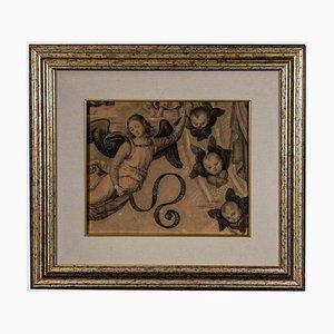 Unknown, Men from Galilae Up To Heaven, Gemälde, 19. Jahrhundert