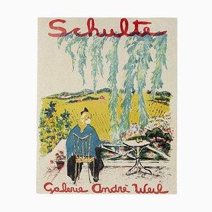Unknown, Schulte Ausstellungsposter, Offsetdruck, spätes 20. Jahrhundert