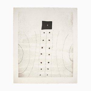 B. Mesko, Landscape, Lithograph, 1966
