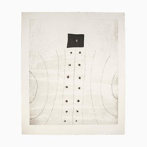 B. Mesko, Landschaft, Lithographie, 1966