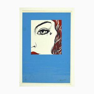 Felix Labisse - Fly - Original Serigraphie - 1970er