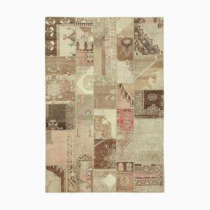 Vintage Floor Teppich in Beige