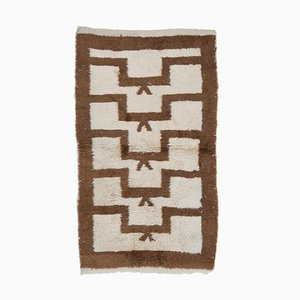 Vintage Brown Tulu Rug