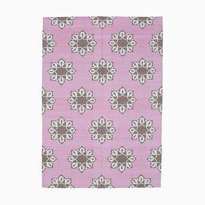 Vintage Pink Dhurrie Rug