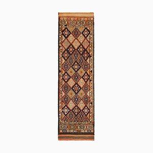 Mehrfarbiger Vintage Boho Läufer Teppich