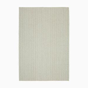 Beige Vintage Modern Kilim Teppich