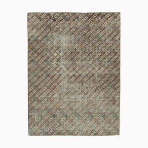 Mehrfarbiger böhmischer Vintage Teppich