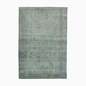 Vintage Grey Overdyed Rug