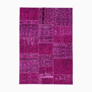 Vintage Pink Patchwork Rug