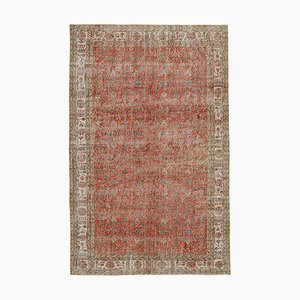 Vintage Turkish Red Area Rug