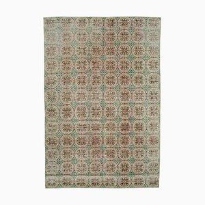 Böhmischer Vintage Beiger Teppich