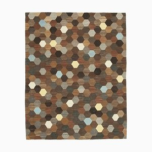 Vintage Brown Area Rug