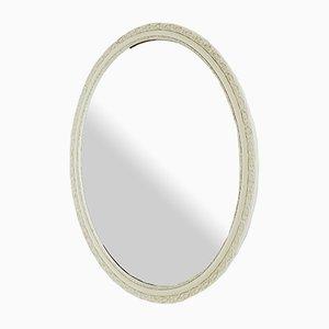 Ovaler Mid-Century Spiegel von Pieterman für Pieterman, 1960er