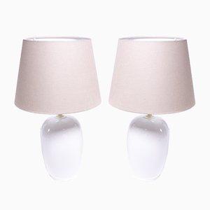 Vintage Keramik Tischlampen von Klyhn Design Modern, 2er Set