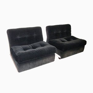 Amanta Sofas by Mario Bellini for B&B Italia / C&B Italia, 1973, Set of 2