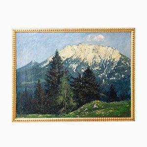 Ludwig Von Senger, Alpine Landscape