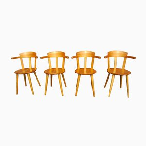 Scandinavian Dining Chairs by Nils-Göran Gustafsson for Stolab, 1994, Set of 4