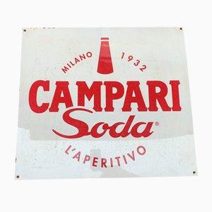 Insegna Campari Soda, anni '70