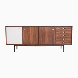 Rosewood Sideboard with Sliding Doors and Drawers from Faram, 1960s