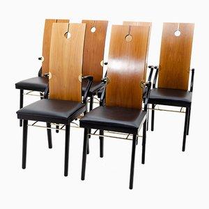 Vintage Esszimmerstühle von Pierre Cardin, 8er Set