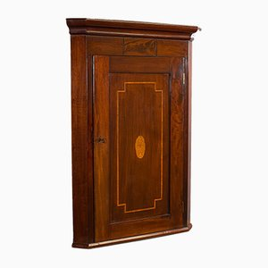 Antique English Corner Cabinet, 1800s