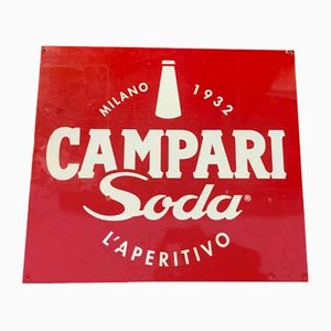 Campari Limo Schild, 1970er