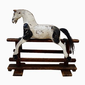 Antique Victorian Midsized Rocking Horse