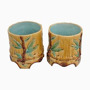 Keramik Blumentöpfe, 1906, 2er Set