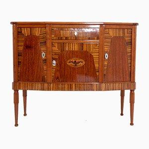 Französisches Vintage Art Deco Sideboard aus Holz, 1930er