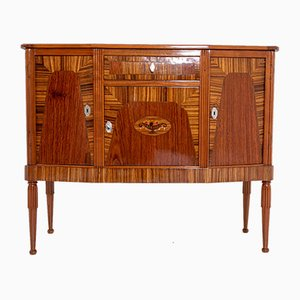 Vintage French Art Deco Wooden Sideboard, 1930s