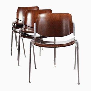 Esszimmerstühle von Giancarlo Piretti für Castelli / Anonima Castelli, 1978, 6er Set