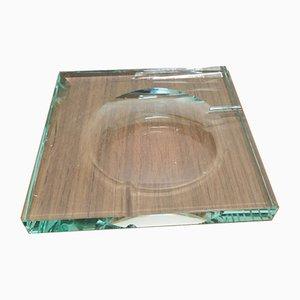 Mid-Century Glas Aschenbecher von Fontana Arte