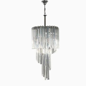 Triedro Ceiling Lamp from Venini, 1950s