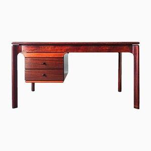 Vintage Schreibtisch aus Mahagoni, 1970er