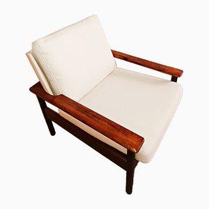 Rosewood Armchair, 1970s