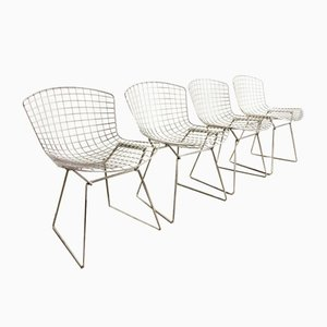Vintage Chrome Dining Chairs from Harry Bertoia for Knoll Inc. / Knoll International, Set of 4