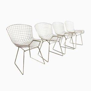 Vintage Esszimmerstühle aus Chrom von Harry Bertoia für Knoll Inc. / Knoll International, 4er Set
