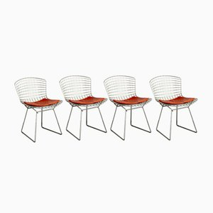Vintage Chrome Dining Chairs by Harry Bertoia for Knoll Inc. / Knoll International, Set of 4