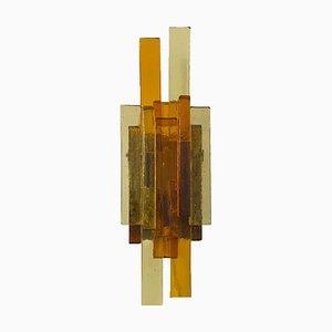 Glas Wandlampe von Svend Aage Holm Sørensen für Svend Aage Holm Sørensen, 1960er