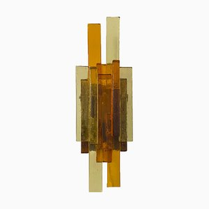 Glass Sconce by Svend Aage Holm Sørensen for Svend Aage Holm Sørensen, 1960s