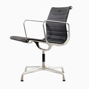 Mid-Century Modell EA 108 Aluminium Stuhl von Charles & Ray Eames für Herman Miller