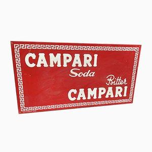 Insegna Campari Soda, anni '60