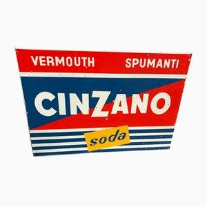 Schild von Cinzano, 1970er