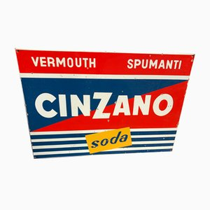 Sign from Cinzano, 1970s