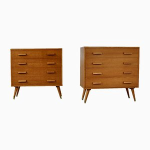 Vintage Chest of Drawers, Set of 2