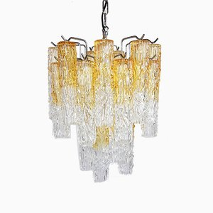 Murano Glass Chandelier by Toni Zuccheri for Venini, 1960s